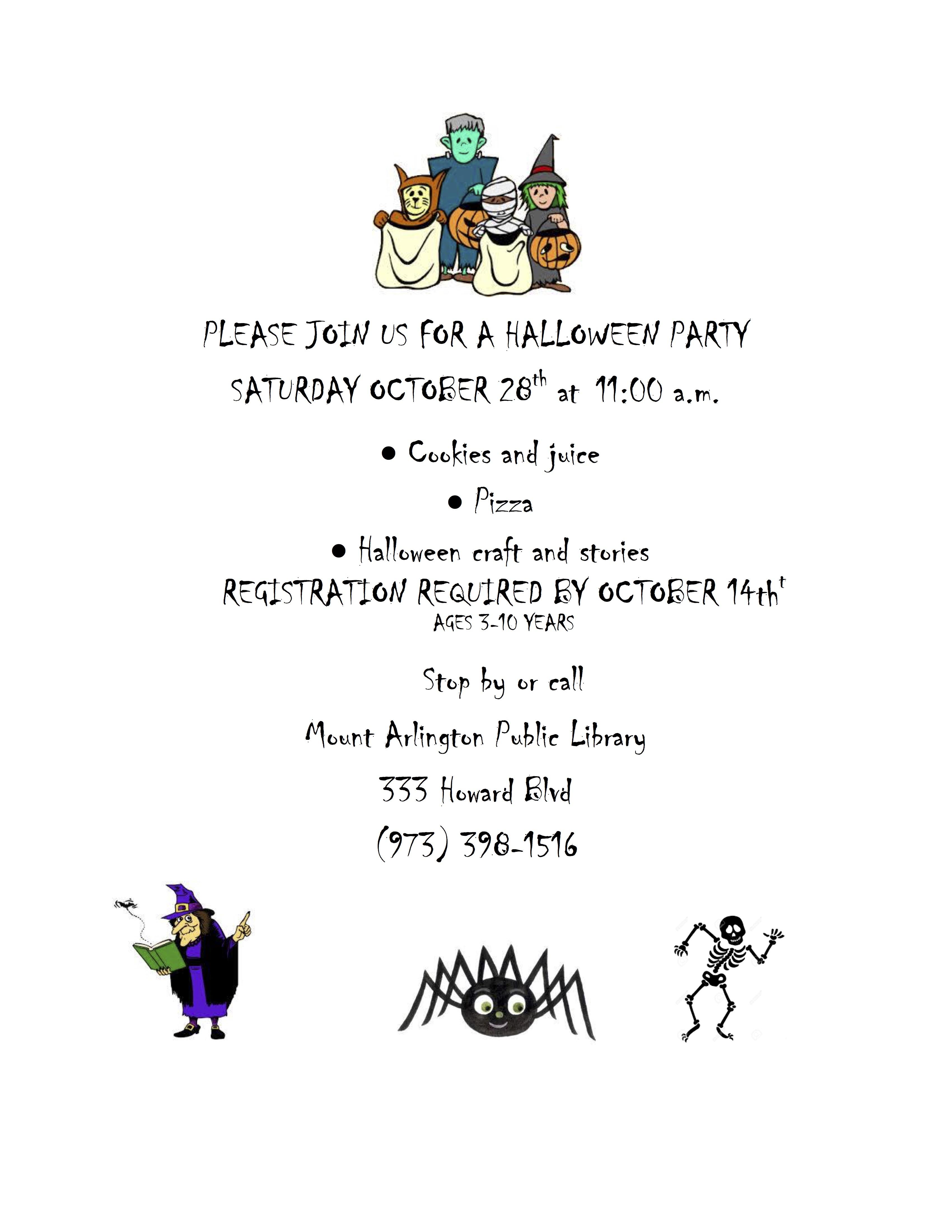 Halloween 2017 Flyer